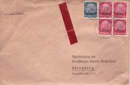 L. De Hagenau  (Els)  Pour Strassburg  9/04/41 - Alsace-Lorraine