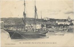 D 83. STE MAXIME.PLAN DE LA TOUR BRICK ITALIEN AUX QUAIS - Sainte-Maxime