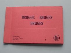 BRUGGE - BRUGES ( 1 ) - Anno 19?? Thill - 10 Stuks : Nrs 50 T.e.m. 59 / Carnet Real Photos ( Zie Foto's Voor Detail ) !! - Lieux