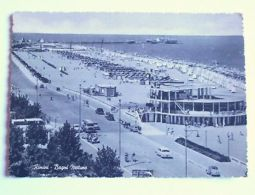 Cartolina Rimini - Bagni Nettuno 1955 - Rimini