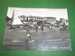 Cartolina Miramare Di Rimini - La Spiaggia 1960 - Rimini