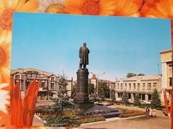 Russia. Vladikavkaz (ex. Ordzhonikidze) .  Lenin Monument  1984 - Monumenten