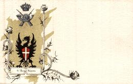6 Regg Alpini   - Postcard Italian Italia  Military - Regimente