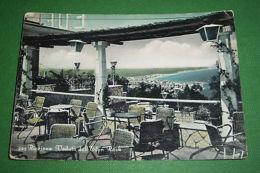 Cartolina Riccione - Veduta Dall' Eden Rock 1957 - Rimini