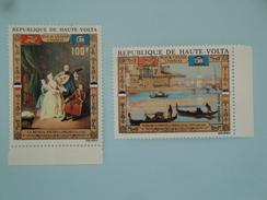 1972  Haute-Volta Yvert  PA 100/1 ** Bateaux Ships Scott C 100/1  Michel 363/4 SG Xx Venise UNESCO - Haute-Volta (1958-1984)