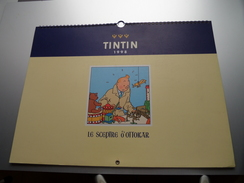 TINTIN 1998 - Le Sceptre D'Ottokar  ( Hergé - Moulinsart 1997 Imprimé En Italie : 30 X 40 Cm. ) - ( Zie Foto´s ) !! - Big : 1991-00