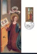 Liechtenstein MK/Nr. 104 Weihnachten 3  Maximumkarten - Maximum Cards