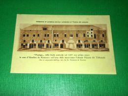 Cartolina Treviso - Fontego Delle Biade Da Un Acquarello Di G. B. Torresini - Treviso