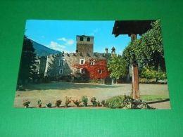 Cartolina Valle D' Aosta - Castello Di Introd 1965 Ca - Italia