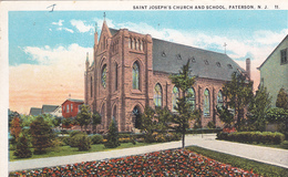 ETATS UNIS. PATERSON. . SAINT JOSEPH' S CHURCH AND SCHOOL - Paterson