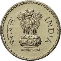 INDIA-REPUBLIC, 5 Rupees, 2000, FDC, Copper-nickel, KM:154.1 - Indien