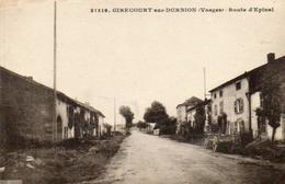 CPA - GIRECOURT-sur-DURBION (88) - Aspect De La Route D'Epinal Dans Les Années 20 - Sonstige Gemeinden