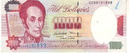Venezuela P.76b 1000 Bolivares 1995 Xf - Venezuela