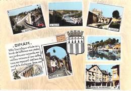 ** Lot De 7 Cartes ** BRETAGNE - 22 - DINAN : Cartes Diversifiées - CPSM Grand Format - Côtes D'Armor - Dinan