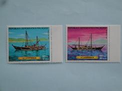 1987  Madagascar Yvert  798/9 ** Bateaux Ships Scott  786/7  Michel 1054/5 SG Xx - Madagascar (1960-...)