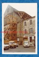 Photo Ancienne - SAINT SEVER ( Landes ) - Abbatiale - 1973 - Boulangerie - Automobile Citroen 2CV - Cars