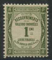 France (1908) Taxe N 43 (Luxe) - Taxes