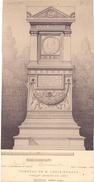 Prent Image Tombeau De M. Louis Hymans - Architecte Ernest Acker - 1885 - Vieux Papiers