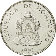 Honduras, 50 Centavos, 1991, FDC, Nickel Plated Steel, KM:84a.1 - Honduras