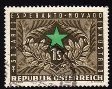 ÖSTERREICH 1954 -  50 Jahre Esperanto In Österreich - Esperanto