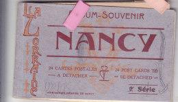 Jak-  54 M & Moselle Carnet De 11   Cpa  NANCY - Nancy
