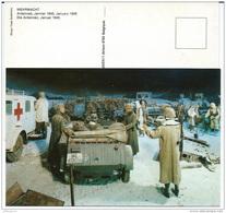 CP Bataille Des Ardennes - Wehrmacht Janvier 1945 - Ambulance - éd. Par  Le Victory Museum  ARLON - Guerre 1939-45
