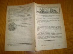 Lois An XI.1803.Armée,organisation Cie De Canonniers Gardes Côtes Composition Traitement.Navigation Escaut Charbon De Te - Decrees & Laws
