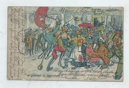 Dunkerque (59) : Le Carnaval Illustration De Brasseur Présentant Un Groupe Déguisé En 1909 (animé) PF. - Dunkerque