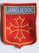 écusson Ancien Blason Brodé Languedoc - Patches