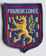 écusson Ancien Blason Brodé Franche Comté - Ecussons Tissu