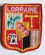 écusson Ancien Blason Brodé Lorraine - Scudetti In Tela
