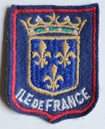 écusson Ancien Blason Brodé Ile De France - Patches