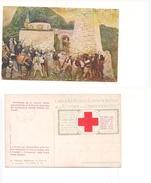 M4495 Croce Rossa Italiana ILLUSTRATA TOMMASO CASCELLA  Sovrastampata Prestito N 36 Disarmo Albanesi - Künstlerkarten