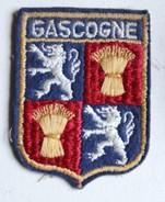 écusson Ancien Blason Brodé Gascogne - Ecussons Tissu