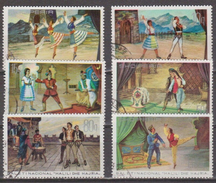 ALBANIA 1971 The National Ballet Of Albania. USADO - USED. - Albanie