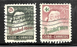 Cuba 1954 SC# 532-533 - Used Stamps