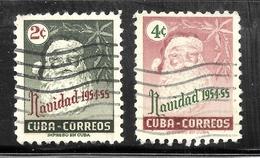 Cuba 1954 SC# 532-533 - Cuba