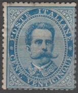 Italie 1879 N° 40  Gomme Altérée Segond Choix Umberto I  (E1) - Nuovi