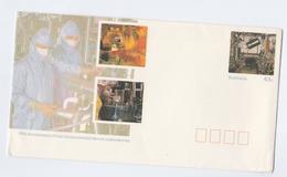 AUSTRALIA Postal STATIONERY COVER Anniv SERUM LABORATORIES Pharmaceutical Health Medicine Pharmacy Stamps - Medicine