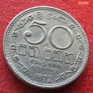 Sri Lanka 50 Cents 1972 KM# 135.1 - Sri Lanka