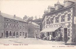 Houyet - Avenue De La Gare (Hôtel De La Lesse, Animée, Café Edit. Saimpain) - Houyet