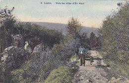 Lustin - Vers Les Villas D'En Haut (animée, Colorisée, SBP, 1914) - Profondeville