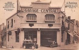 71 - Digoin - Garage Central - Belle Exposition De Voitures - Digoin