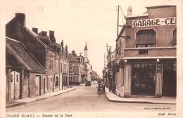 71 - Digoin - Avenue De La Gare - Garage Central - Digoin