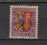Switzerland 1918,1V, Coat Of Arms.wapenschild,wappen,des Armoiries,capa De Brazos,Used/Gestempeld(A3345) - Postzegels