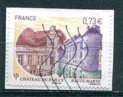 France 2017 - Château Du Pailly (o) Sur Fragment - Oblitérés