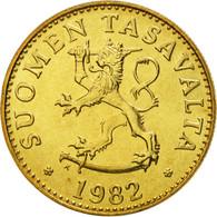 Finlande, 50 Penniä, 1982, FDC, Aluminum-Bronze, KM:48 - Finlande