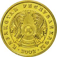 Kazakhstan, 5 Tenge, 2002, Kazakhstan Mint, FDC, Nickel-brass, KM:24 - Kazakhstan