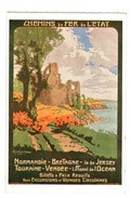 TRAIN . Chemins De Fer De L'Etat . Billet à Prix Réduits Pour Excursions Et Voyages Circulaires - Réf. N°3143 - - Chemins De Fer