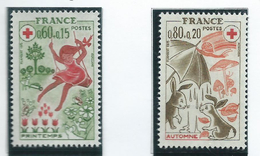 Timbre France Neuf ** N° 1860-61 - France